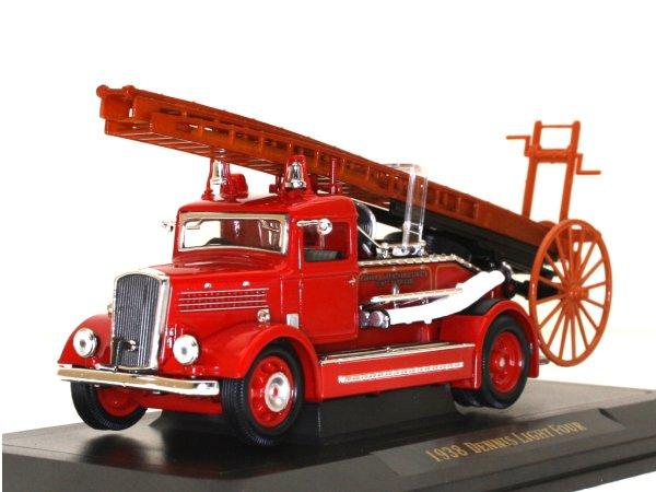DENNIS Light Four - 1938 - Firetruck - YATMING 1:43