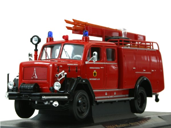 MAGIRUS-DEUTZ 150 D 10 F TFL16 - 1964 - Firetruck - YATMING 1:43