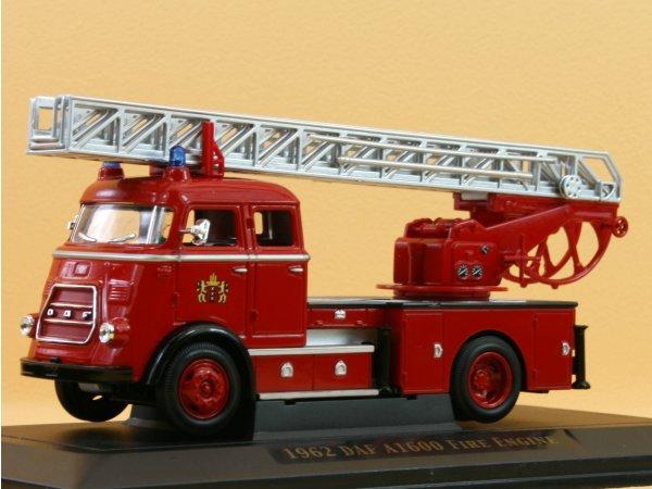 DAF A1600 Fire Engine - 1962 - Firetruck - YATMING 1:43