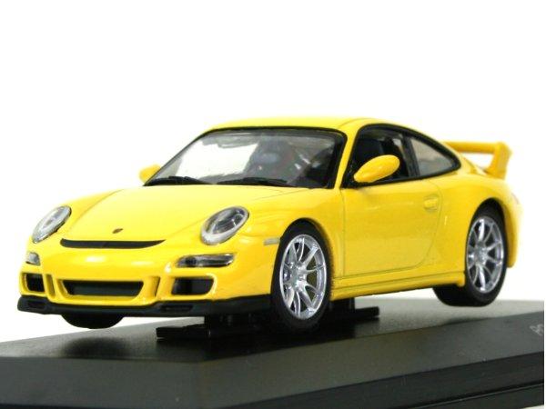 PORSCHE 911 - 997 GT3 - yellow - YATMING 1:43