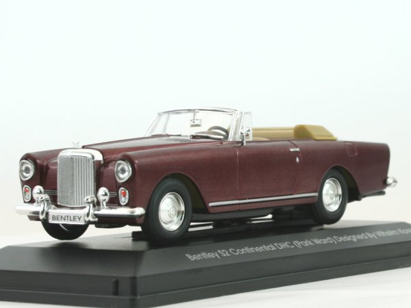 BENTLEY S2 Continental DHC - darkredmetallic - YATMING 1:43