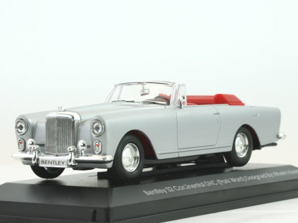 BENTLEY S2 Continental DHC - silver - YATMING 1:43