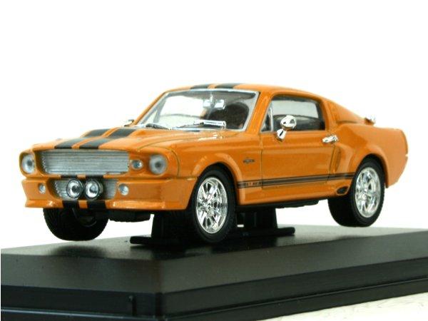 FORD Mustang SHELBY GT 500 - 1967 - orangemetallic - YATMING 1:43
