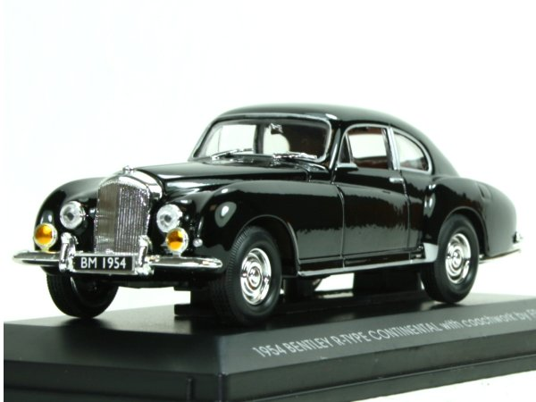 BENTLEY R-Type Continental - 1954 - black - YATMING 1:43
