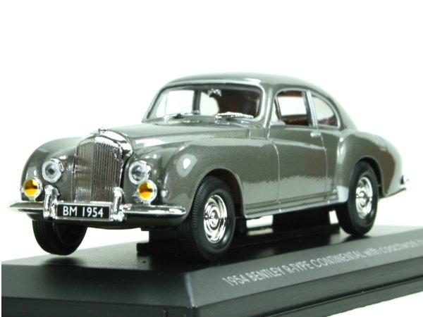 BENTLEY R-Type Continental - 1954 - greymetallic - YATMING 1:43