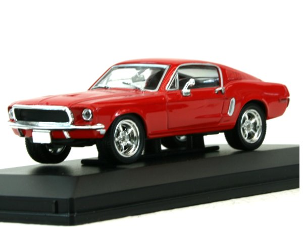 FORD Mustang GT - 1968 - red - YATMING 1:43