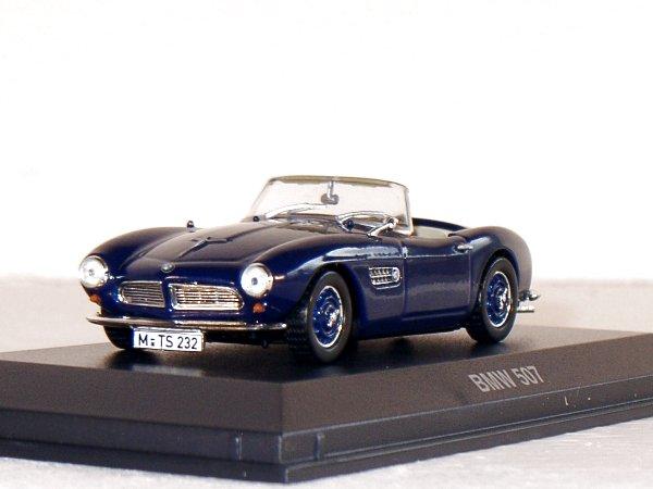 BMW 507 - darkblue - Norev 1:43