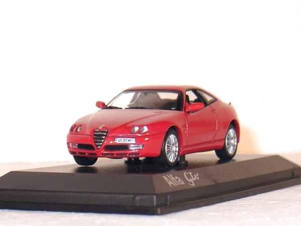 ALFA ROMEO GTV - 2003 - red - Norev 1:43