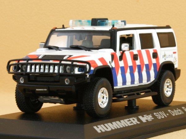 AMC HUMMER H2 SUV - Dutch Police - Norev 1:43