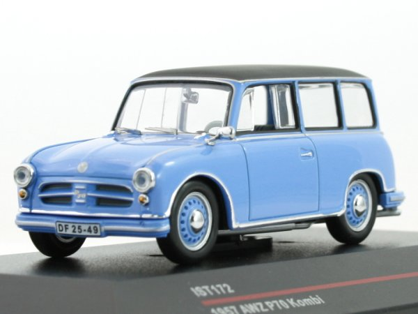 AWZ P70 Kombi - 1957 - blue - IST 1:43