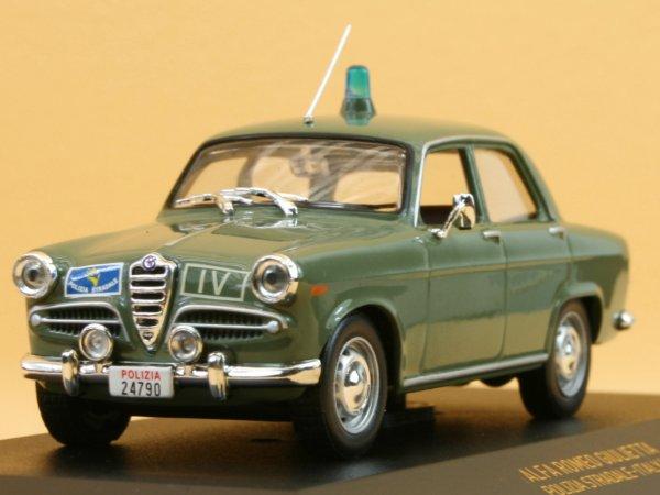 ALFA ROMEO Giulietta - 1959 - Polizia Stradale - IXO 1:43