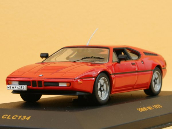 BMW M1 - 1978 - red - IXO 1:43