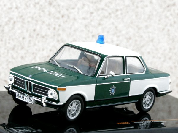 BMW 2002 Tii - 1972 - Polizei - IXO 1:43