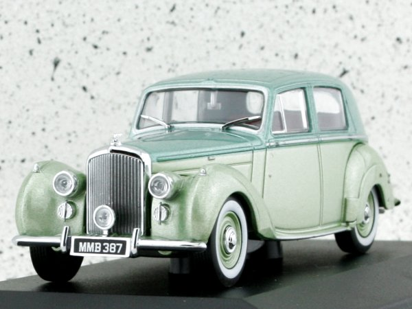 BENTLEY MK VI - 2-tone green - Oxford 1:43
