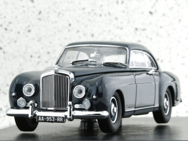 BENTLEY S1 Continental Fastback - darkblue - Oxford 1:43