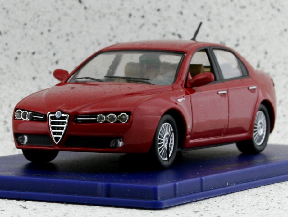 ALFA ROMEO 159 - 2005 - red - M4 1:43