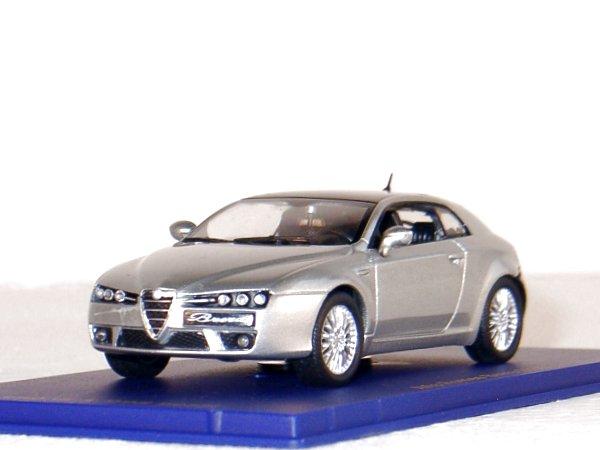 ALFA ROMEO Brera - 2005 - silver - M4 1:43