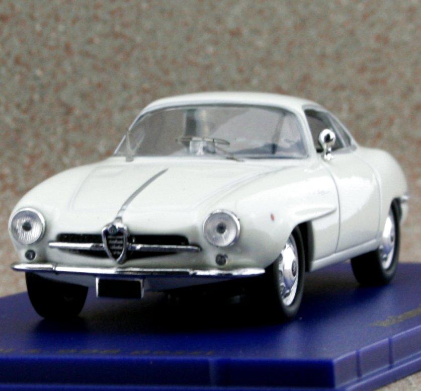 ALFA ROMEO Giulietta SS - 1959 - white - M4 1:43