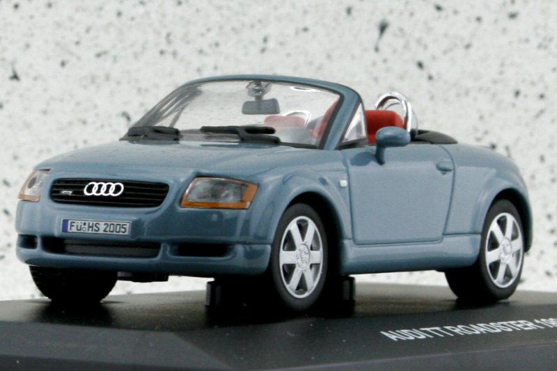 AUDI TT Roadster - 1999 - bluegrey - Edison 1:43