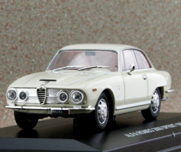 ALFA ROMEO 2600 Sprint - 1964 - white - Edison 1:43