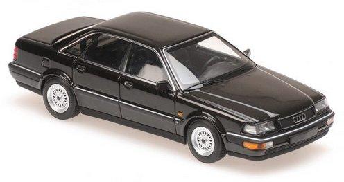 AUDI V8 - 1988 - black - Maxichamps 1:43