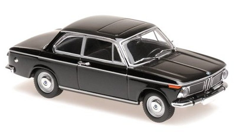BMW 1600 - 1968 - black - Maxichamps 1:43