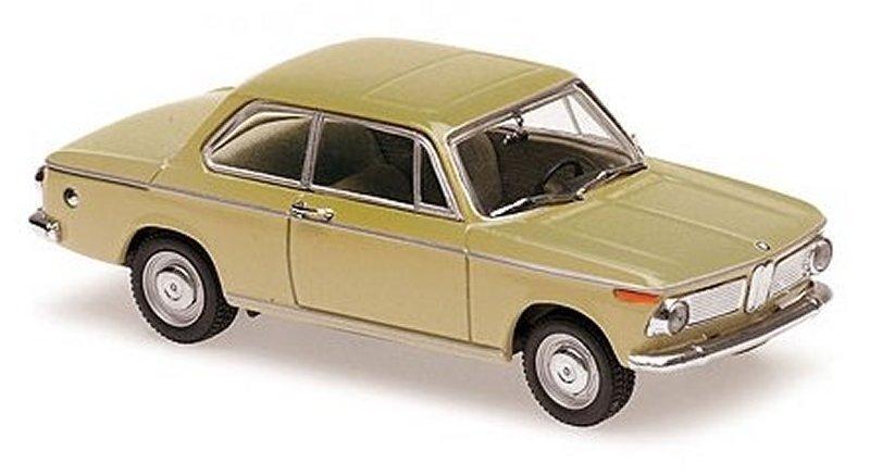 BMW 1600 - 1968 - beige - Maxichamps 1:43