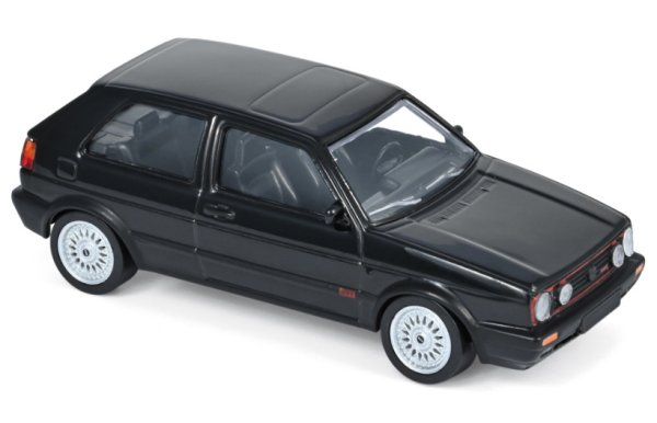 VW Volkswagen Golf GTI - G60 - 1990 - black - Norev 1:43