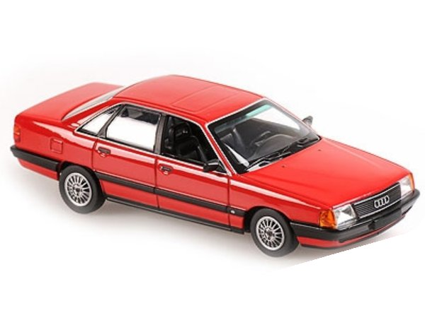 AUDI 100 - 1990 - red - Maxichamps 1:43