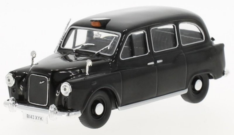 AUSTIN FX4 - London Taxi Cab - WhiteBox 1:43