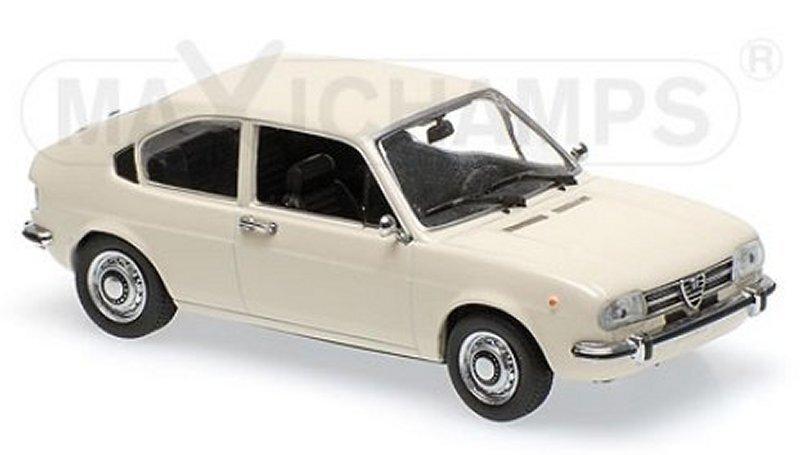 ALFA ROMEO Alfasud - 1972 - white - Maxichamps 1:43