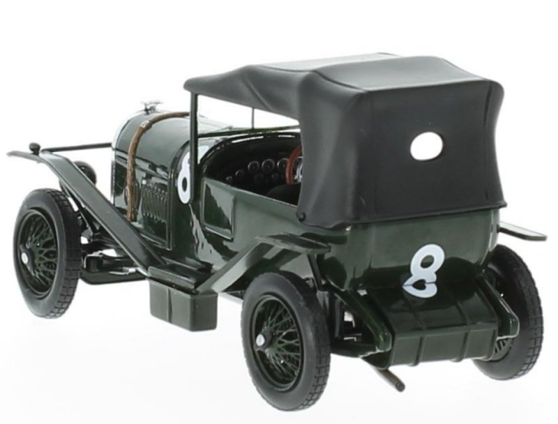 miniatuur 3 - BENTLEY 3L - Winner Le Mans - 1924 - #8 - IXO 1:43