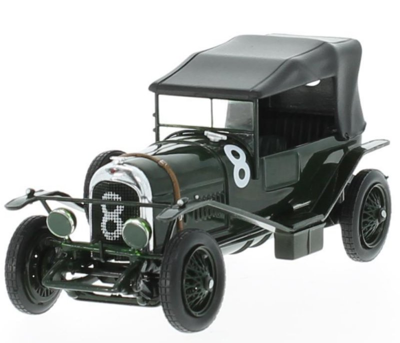 miniatuur 5 - BENTLEY 3L - Winner Le Mans - 1924 - #8 - IXO 1:43