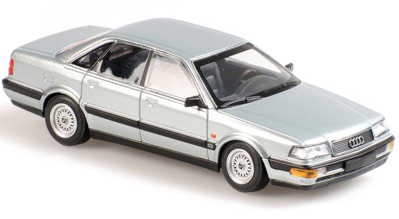 AUDI V8 - 1988 - silver - Maxichamps 1:43