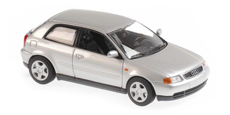 AUDI A3 - 1996 - silver - Maxichamps 1:43
