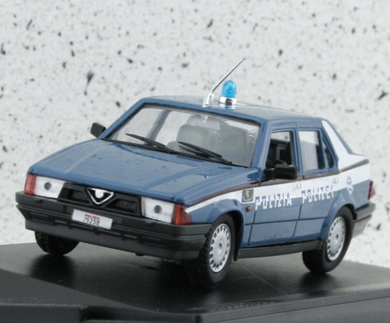 ALFA ROMEO 75 - 1600 - Polizia Stradale - ProgettoK 1:43