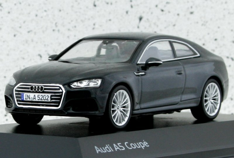 AUDI A5 Coupe - Manhatten grey - AUDI Dealer 1:43