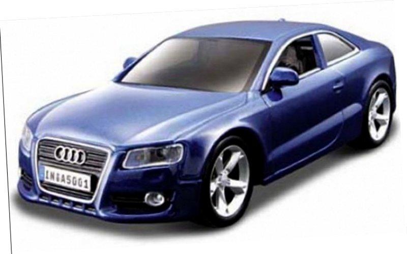 AUDI A5 Coupe - 2010 - bluemetallic - Bburago 1:32