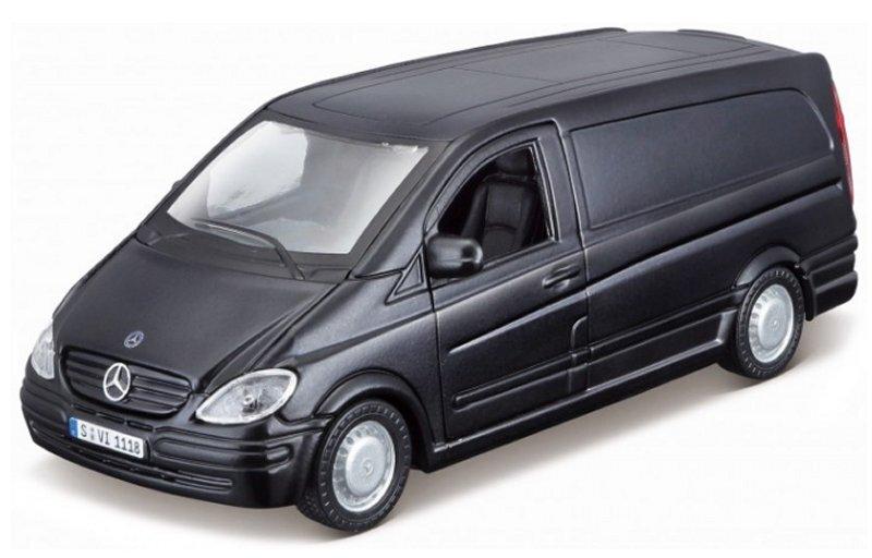 MB Mercedes Benz Vito - 2010 - black dull - Bburago 1:32