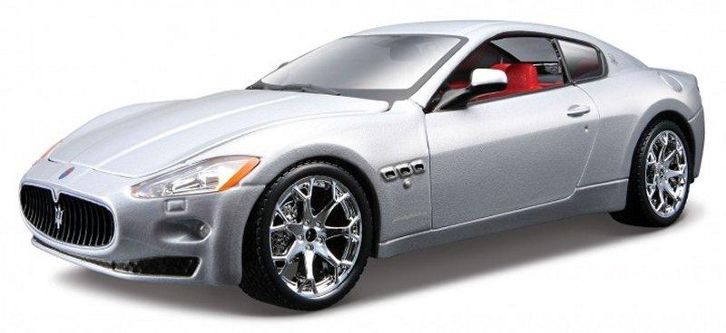 MASERATI Gran Turismo - 2008 - silver - Bburago 1:32