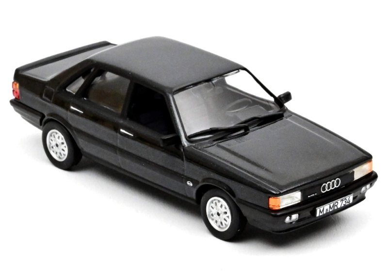AUDI 80 quattro - 1985 - darkgreymetallic - Norev 1:43