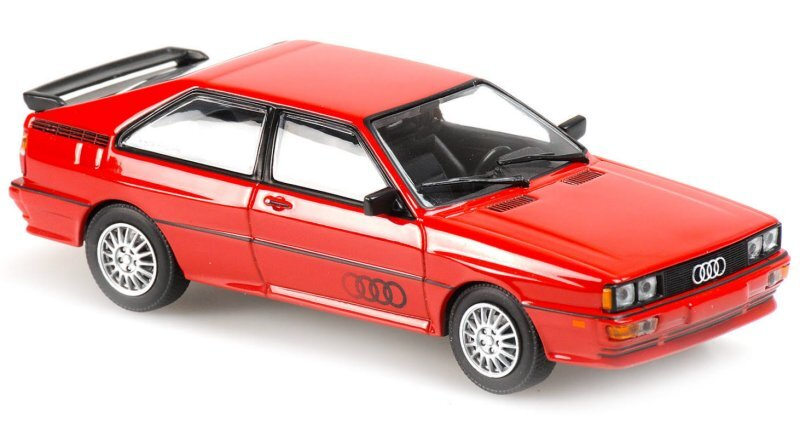 AUDI Quattro - 1980 - red - Maxichamps 1:43