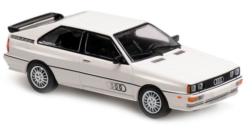 AUDI Quattro - 1980 - white - Maxichamps 1:43