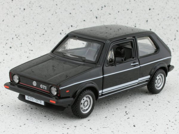 VW Volkswagen Golf GTI - black - Bburago 1:32