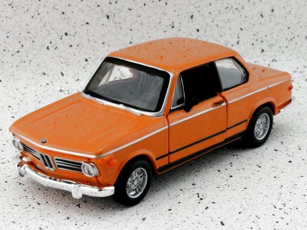 BMW 2002 Tii - 1972 - orange - Bburago 1:32