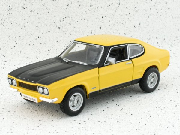FORD Capri RS 2600 - 1970 - yellow - Bburago 1:32