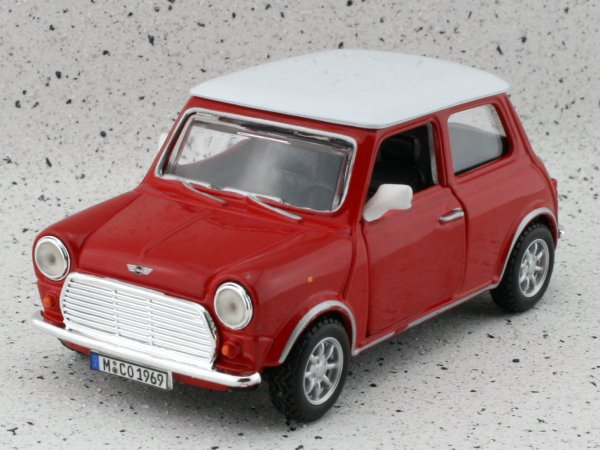 MINI Cooper - red - Bburago 1:32