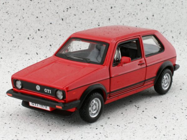 VW Volkswagen Golf GTI - red - Bburago 1:32