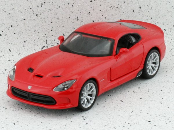 DODGE Viper SRT GTS - 2013 - red - Bburago 1:32
