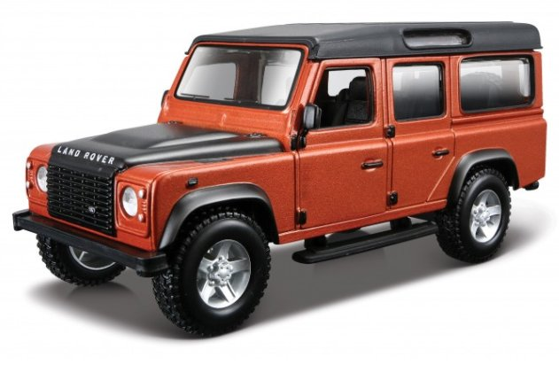 LAND ROVER Defender 110 - coppermetallic - Bburago 1:32